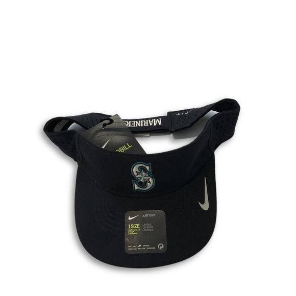 a15d052250e3d Seattle Mariners Nike Dri-Fit Aerobill Visor Hat